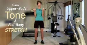 Quick Home Exercises Video for Toning and Stretching